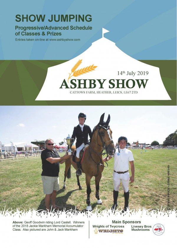 Schedules | Ashby Show